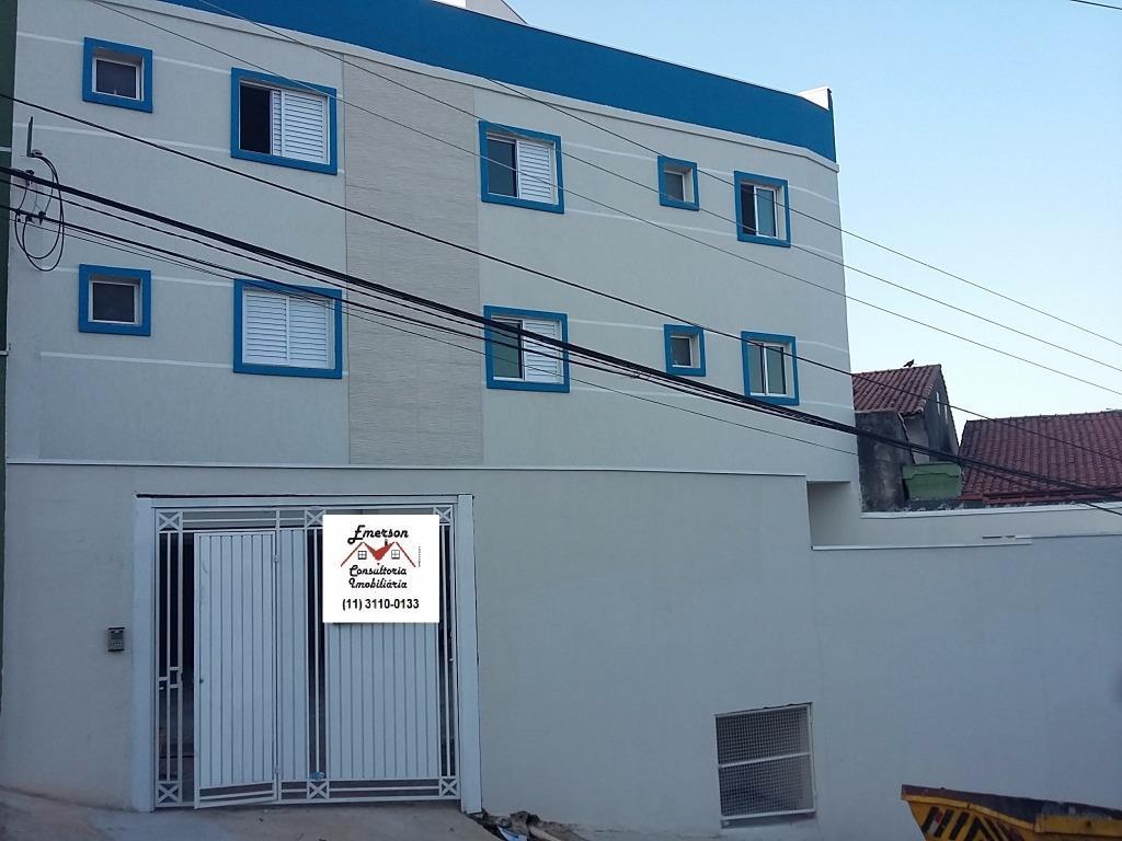 Apartamento residencial à venda, Vila Humaitá, Santo André.