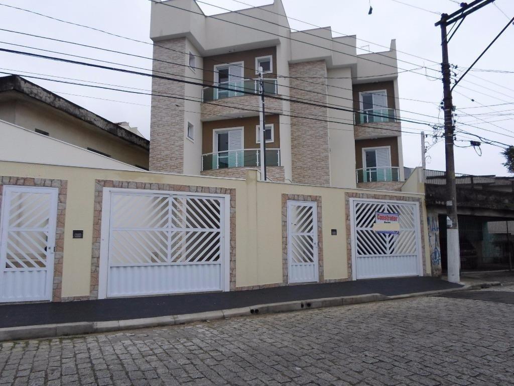 Apartamento sem condomínio venda, Vila Humaitá, Santo André.