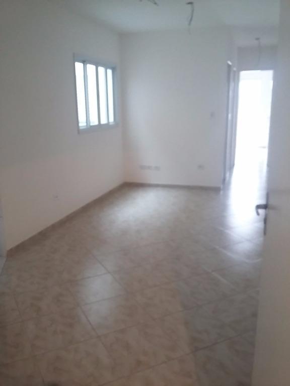 Apartamento  residencial para locação, Vila Eldízia, Santo A