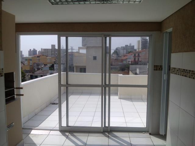 Cobertura residencial à venda, Vila Scarpelli, Santo André -