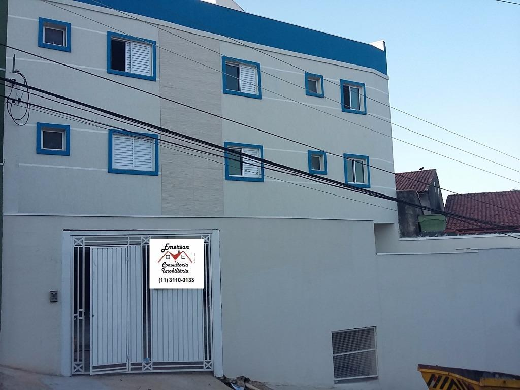 Cobertura residencial à venda, Vila Humaitá, Santo André.