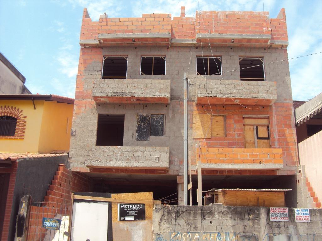 Cobertura residencial à venda, Jardim Stetel, Santo André -