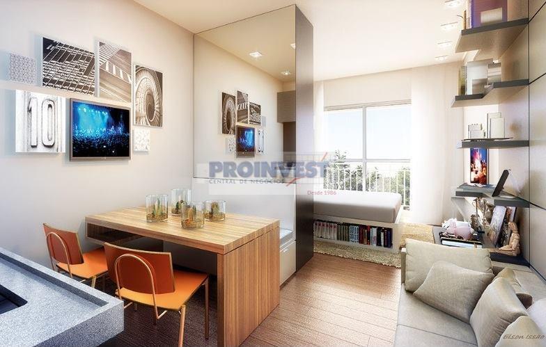 Apartamento de 1 dormitório à venda em Granja Viana, Cotia - SP