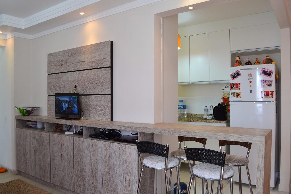 Apartamento com 2 dormitórios à venda, 53 m² por R$ 210.000,00 - Villa Flora - Hortolândia/SP