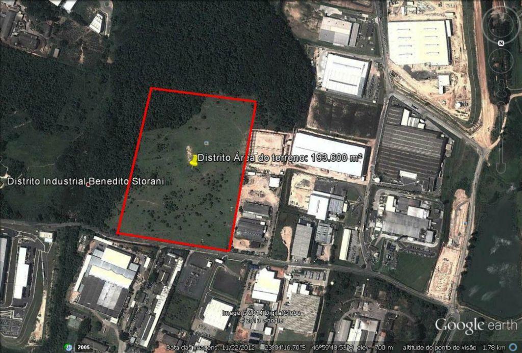 Área comercial à Venda - Distrito Industrial