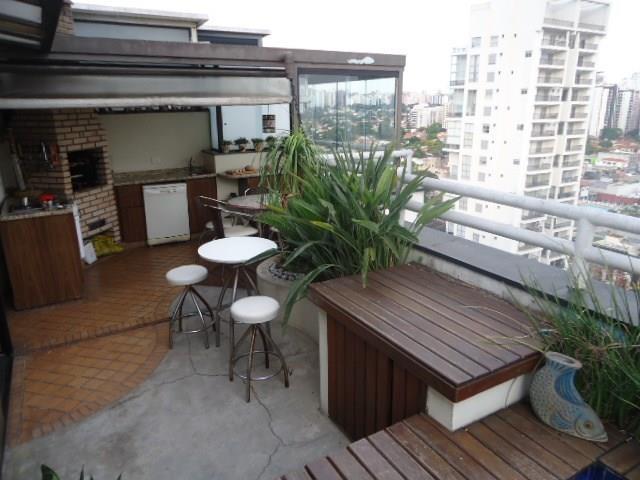 Cobertura à venda, Cidade Monções, São Paulo