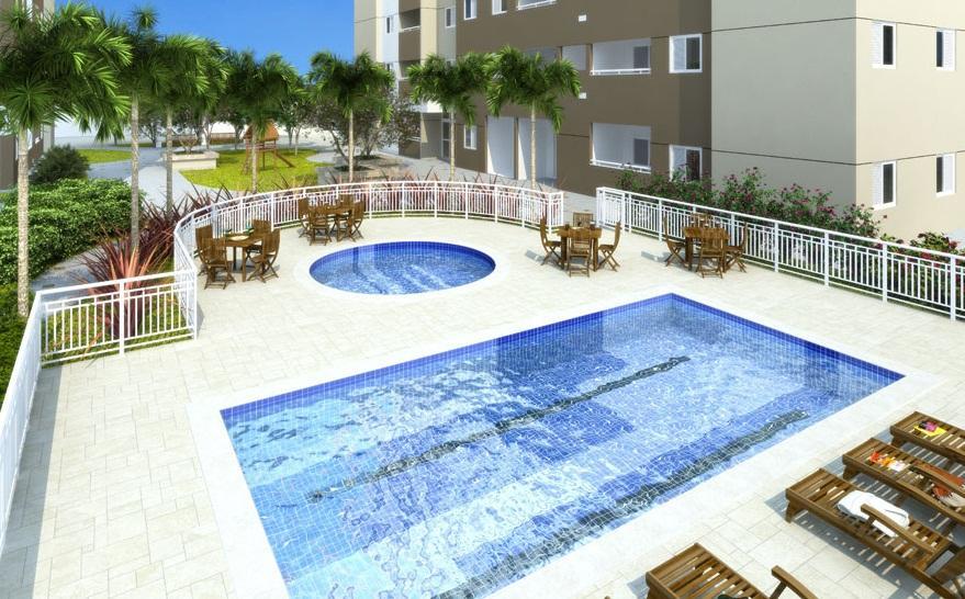 Apartamento residencial à venda, Várzea da Barra F