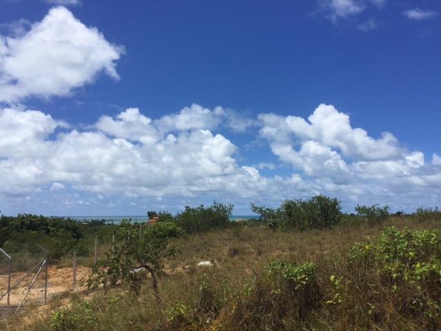 Lindo terreno com vista para o mar de Tabatinga