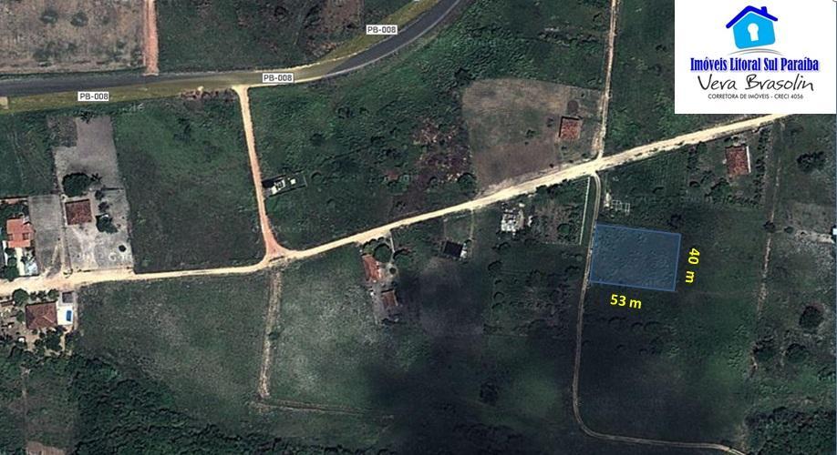 Lote em Praia Bela com 2120 m² em área de Chácaras