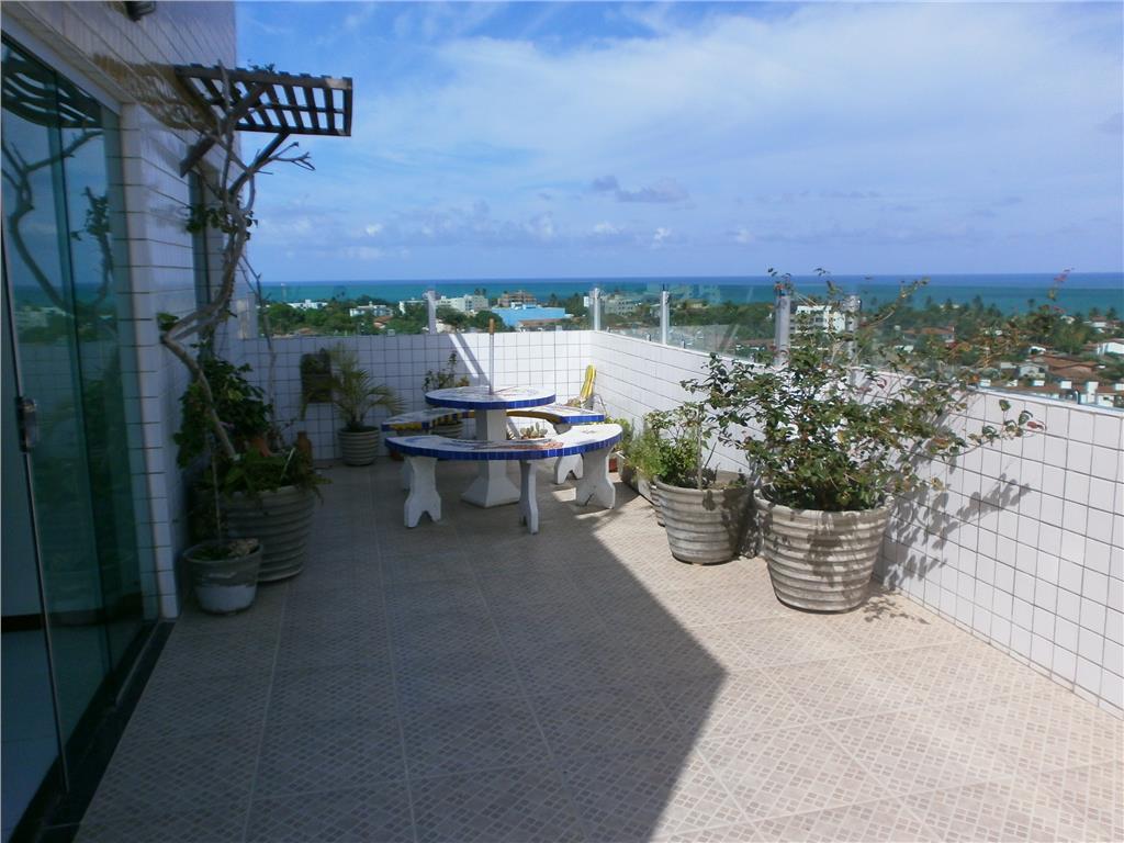 Cobertura, vista para o mar, Praia de Carapibus, Conde.