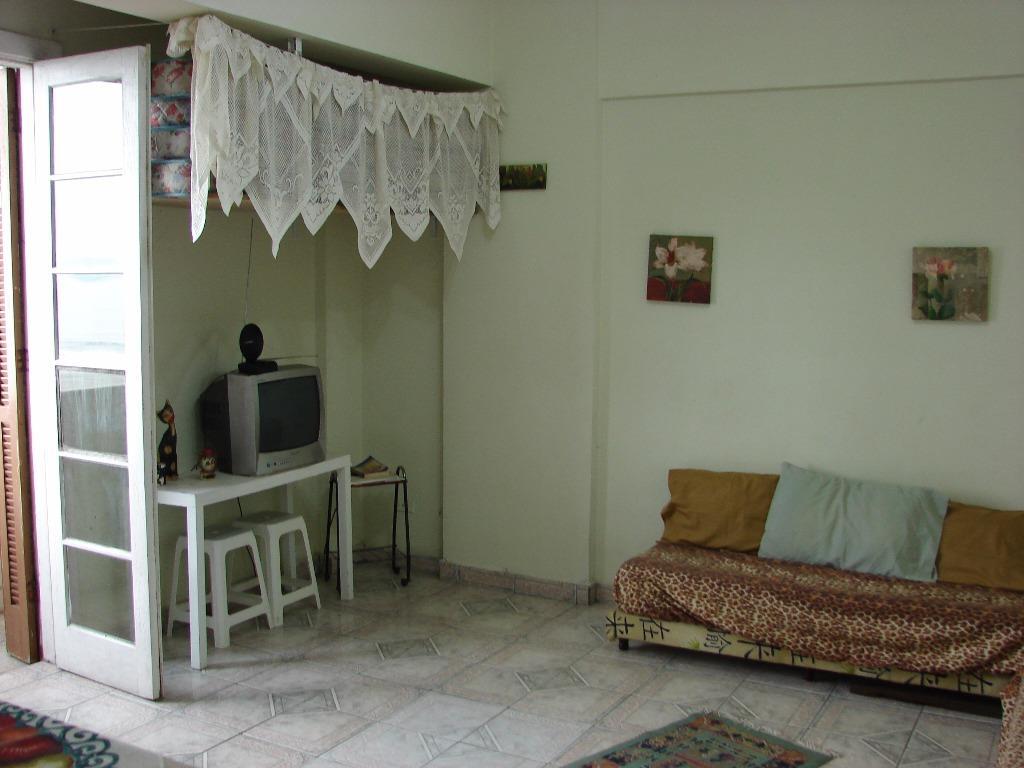 Kitnet residencial à venda, Itararé, São Vicente.