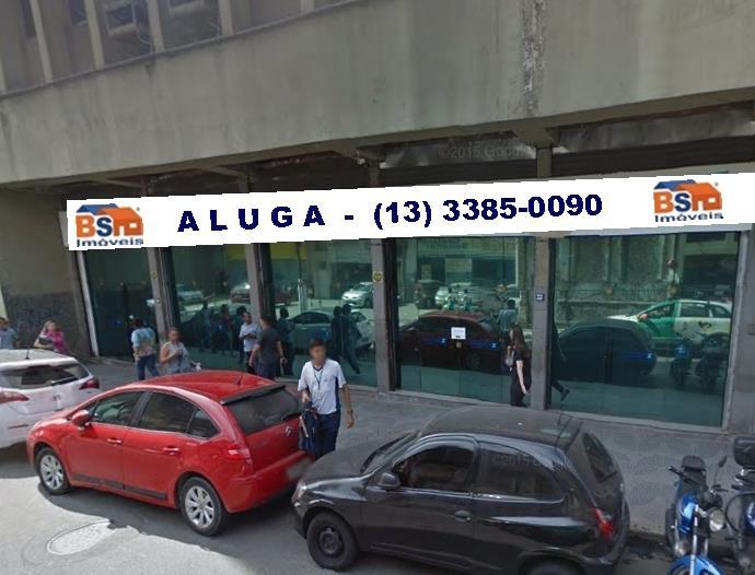 Loja  comercial para venda e locação, Centro, Santos-BS Imóv