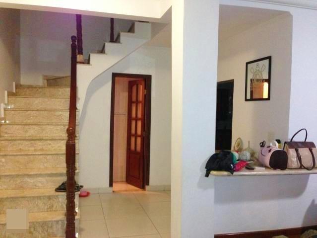 Sobrado residencial à venda, Vila São Jorge, São Vicente - B