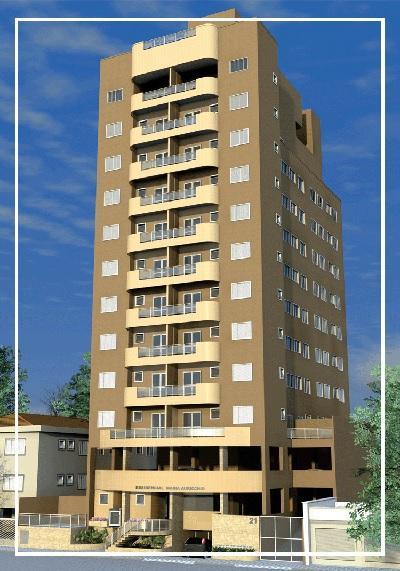 Apartamento residencial à venda, Centro, São Vicente - BS Im