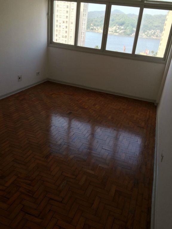 Apartamento residencial para locação, Centro, São Vicente.