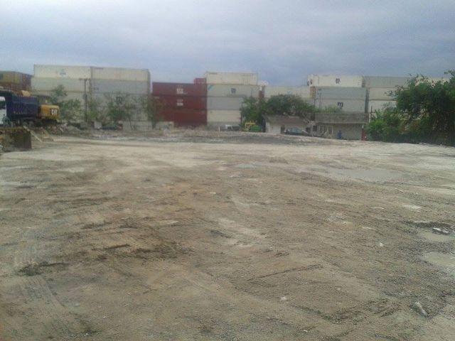 Terreno residencial para locação, Chico de Paula, Santos.
