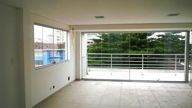 Conjunto  comercial para locação, Encruzilhada, Santos-BS Im