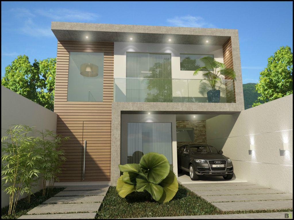 Casas contempor neas for Casas largas y estrechas