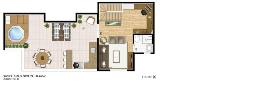 Cobertura 3 Dorm, Vila Rosália, Guarulhos (CO0020)