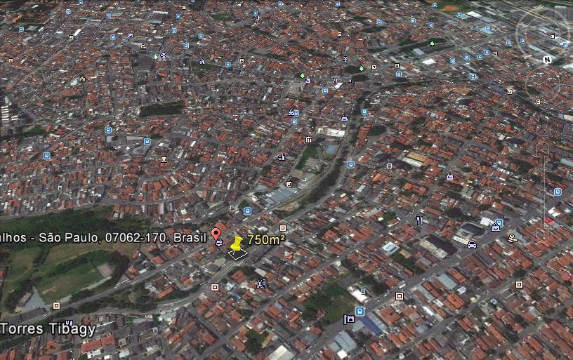 Terreno, Jardim Artidoro, Guarulhos (TE0271)