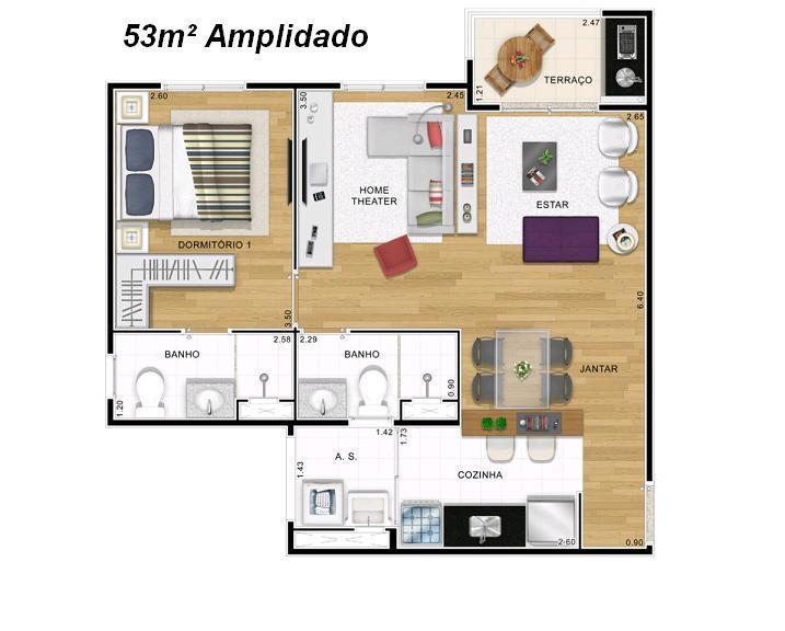 Apto 2 Dorm, Vila Formosa, São Paulo (AP2574) - Foto 16