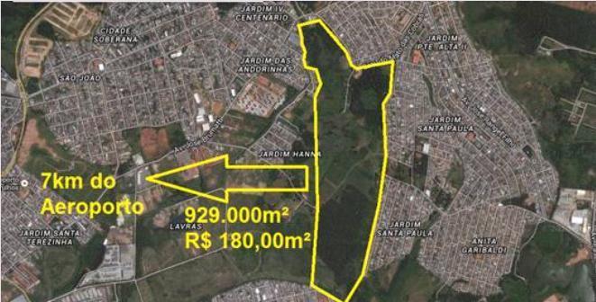 Terreno, Vila Nova Bonsucesso, Guarulhos (AR0321)