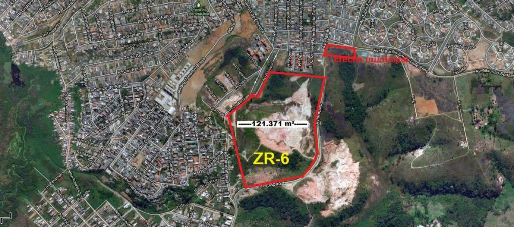 Terreno, Parque Santana, Mogi das Cruzes (AR0175)