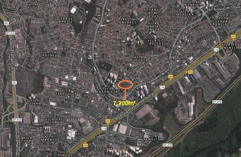 Terreno, Gopoúva, Guarulhos (AR0145)