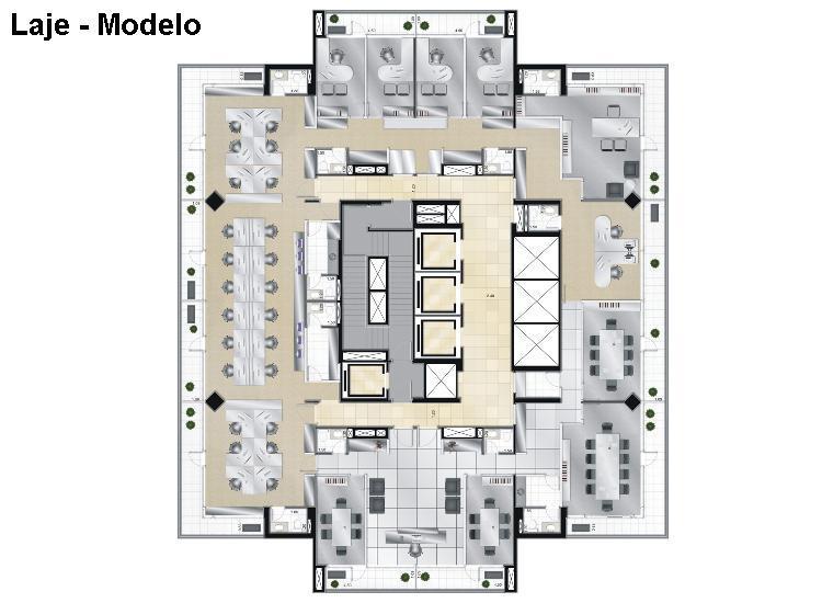 Sala, Cidade Monções, São Paulo (SA0208) - Foto 12