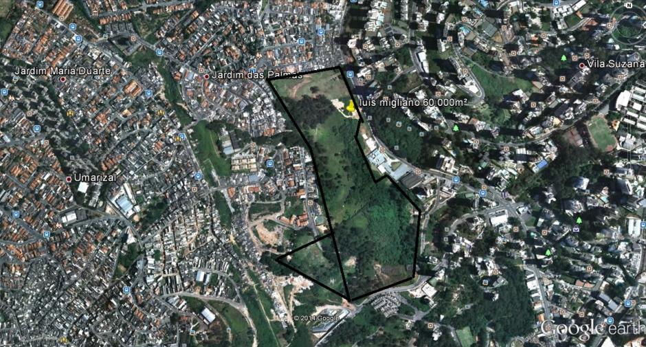 Terreno, Jardim Caboré, São Paulo (AR0256) - Foto 3