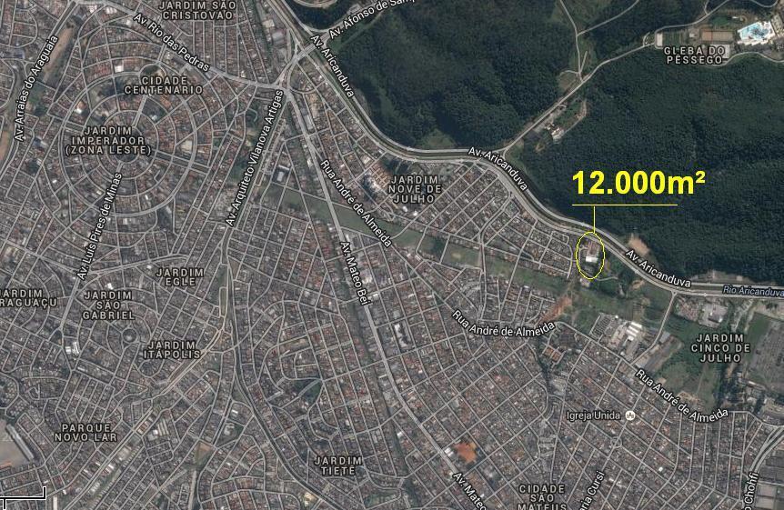 Terreno, Vila Califórnia, São Paulo (AR0215) - Foto 2