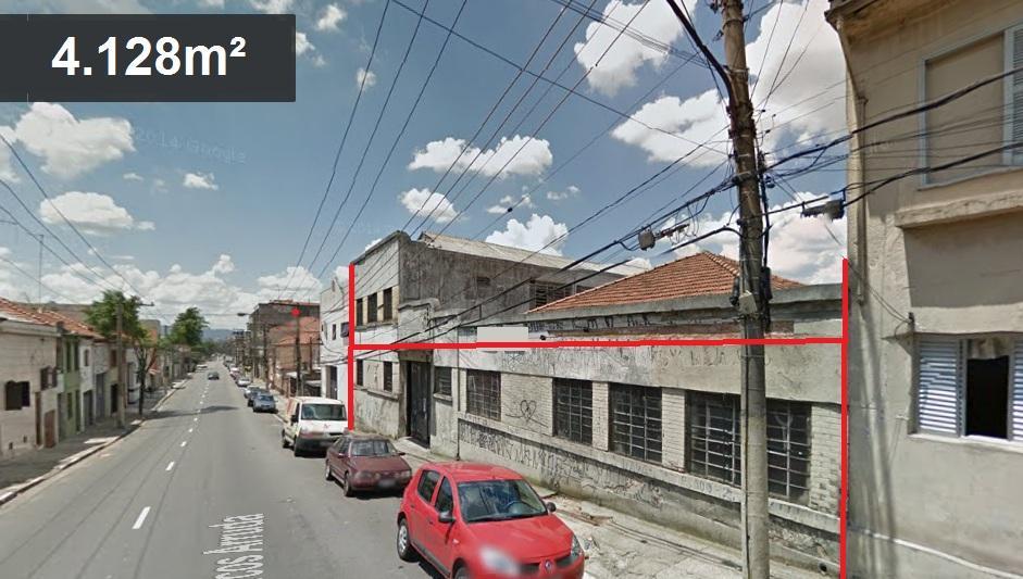 Terreno, Catumbi, São Paulo (AR0206) - Foto 2
