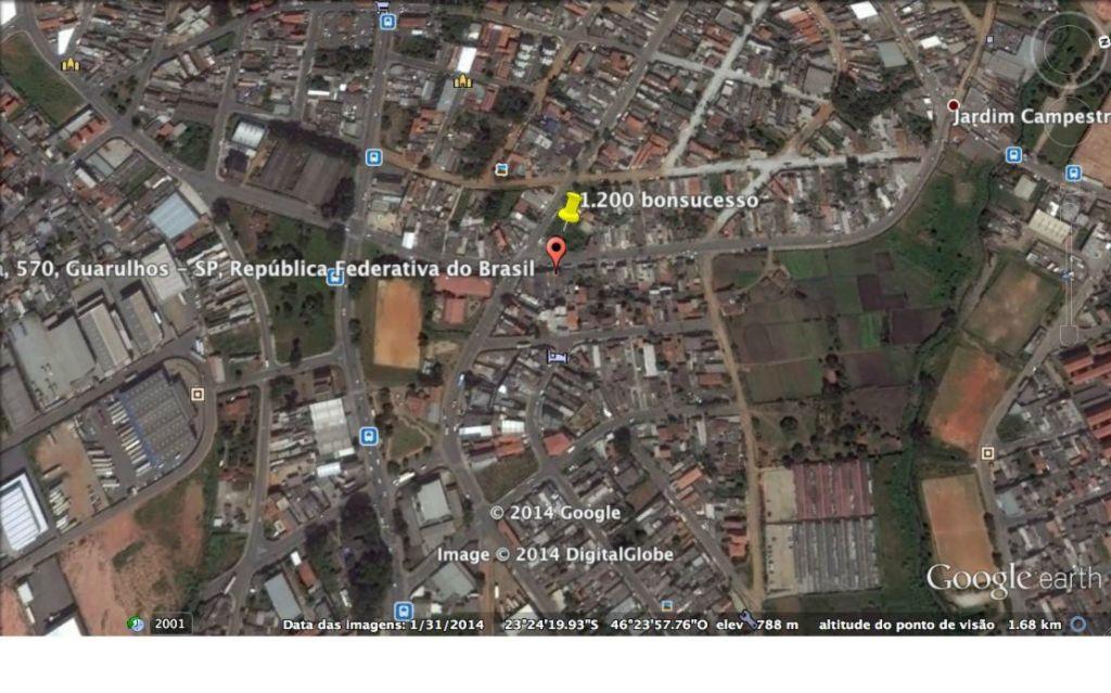 Terreno, Vila Nova Bonsucesso, Guarulhos (AR0296)