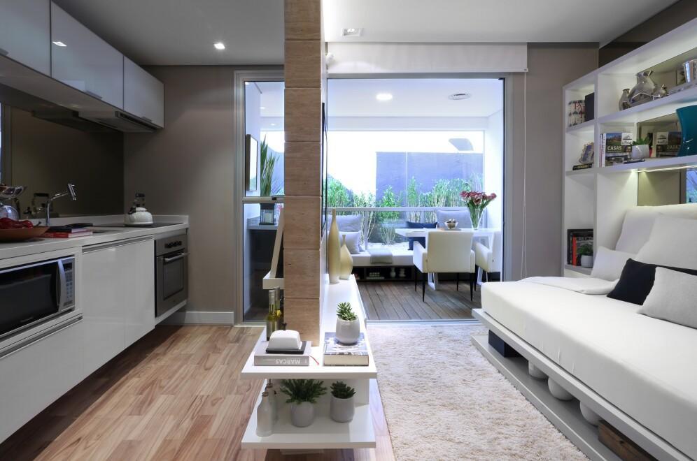 Apto 1 Dorm, Indianópolis, São Paulo (AP2124) - Foto 2