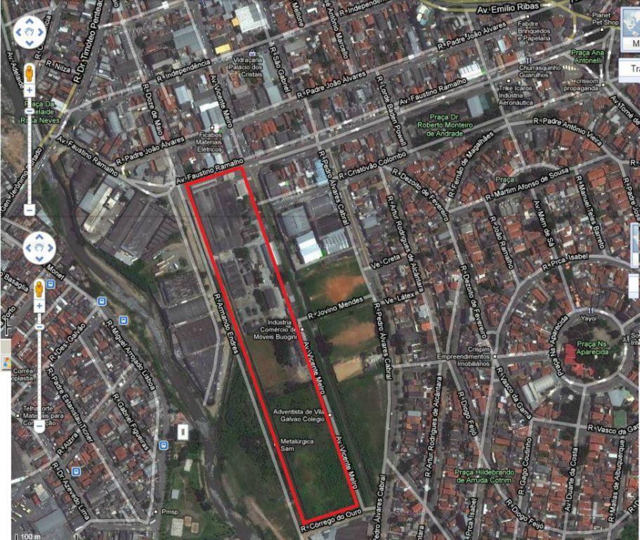 Terreno, Jardim Vila Galvão, Guarulhos (AR0164)