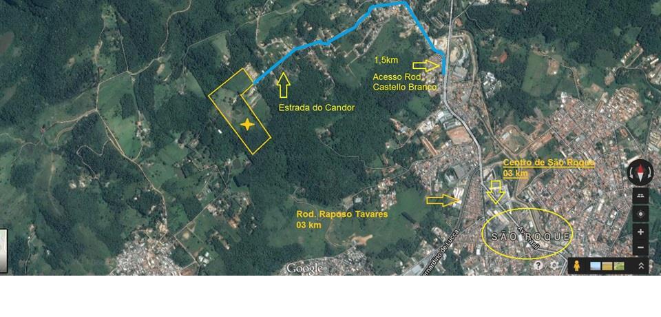 Terreno, Parque Varanguera, São Roque (AR0366) - Foto 2