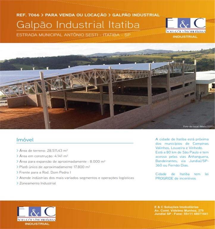 Galpão industrial para venda e locação, Recreio Costa Verde, de E&C Soluções Imobiliárias.'