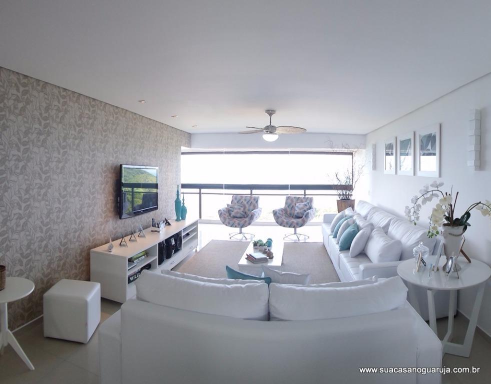 Apartamento  residencial à venda, Morro Sorocotuba, Guarujá.