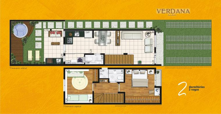 Casa 2 Dorm, Medeiros, Jundiaí (CA0642) - Foto 11