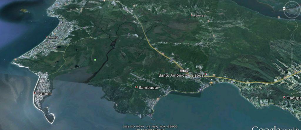Terreno, Sambaqui, Florianópolis (TE0015)