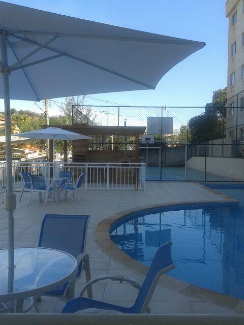 Apartamento para alugar, 48 m² por R$ 930,00/mês - Colubande - São Gonçalo/RJ