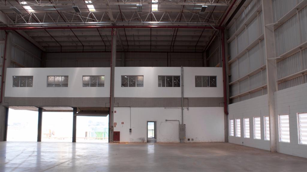 Galpão industrial para locação, DVR