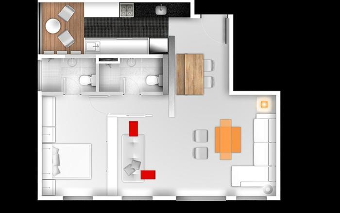 Apartamento em Cambuí, Campinas - SP