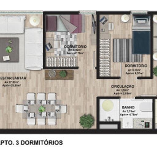 Apto 2 Dorm, Cavalhada, Porto Alegre (AP0391) - Foto 14