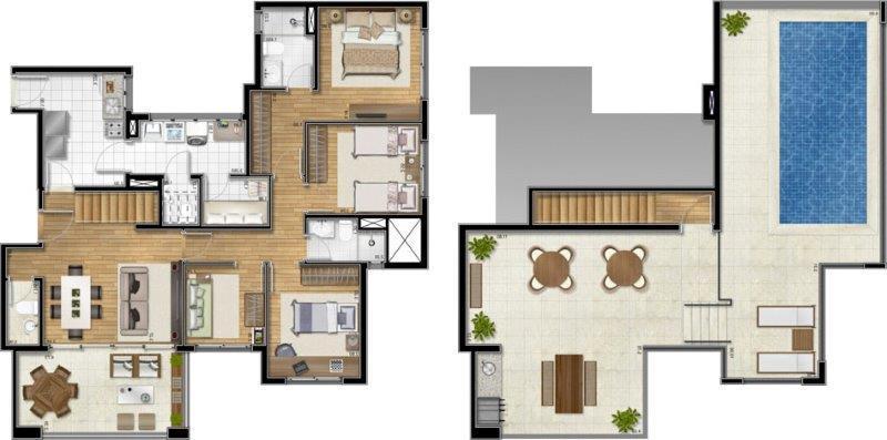 Cobertura de 3 dormitórios à venda em Lapa, São Paulo - SP