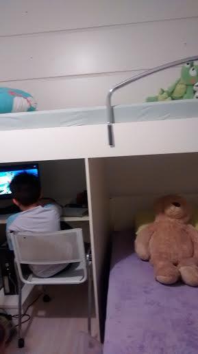 Apartamento de 2 dormitórios em Jardim Monte Alegre, Taboão Da Serra - SP