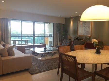 Apartamento Santa Monica Jardim para locação, Barra da Tijuca, Rio de Janeiro - AP0317.
