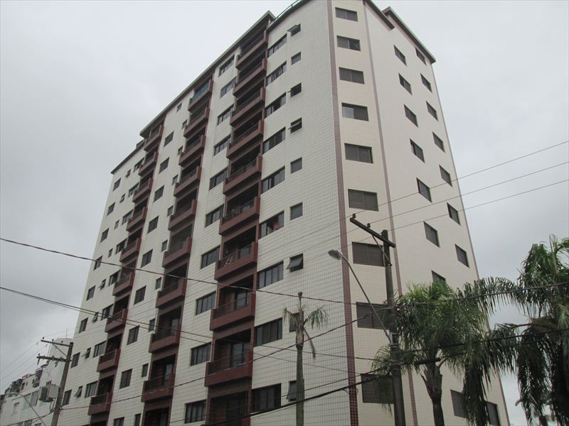 Apartamento Residencial Guilhermina, Praia Grande - AP0329.
