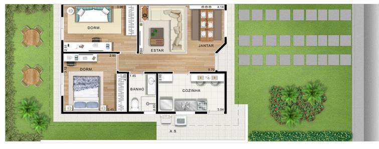 Casa de 2 dormitórios à venda em Residencial Viva Vista, Sumaré - SP