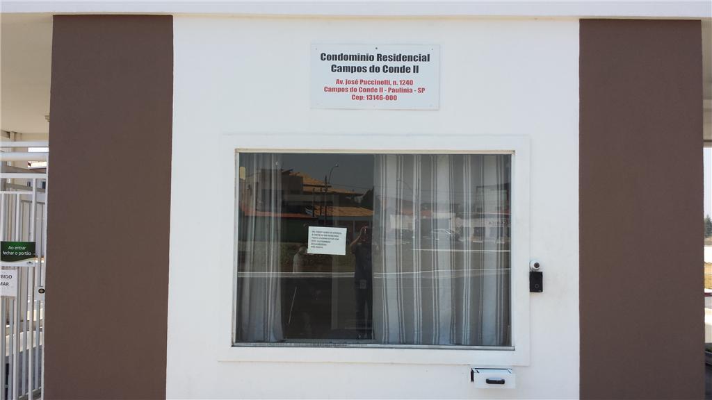 Terreno à venda em Condomínio Campos Do Conde Ii, Paulínia - SP